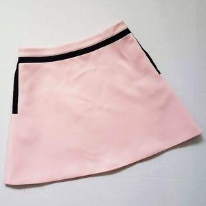 Ted Baker SHERLEY Pale Pink Mini Skirt